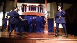 """""""The Complete Deaths of William Shakespeare"""" Courtesy of Cohesion Theatre Company."""