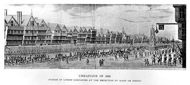 L0003989 Cheapside in 1639.